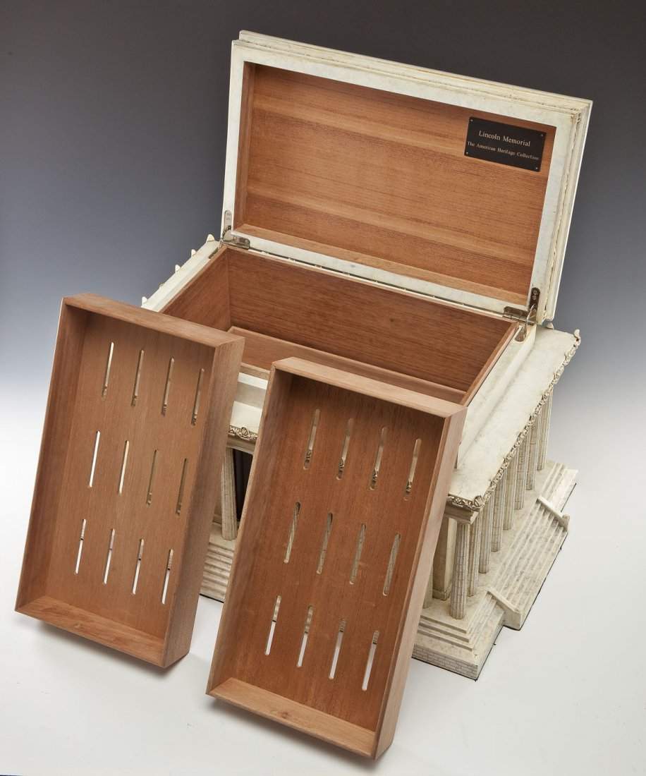 American Heritage Collection Lincoln Humidor - 4