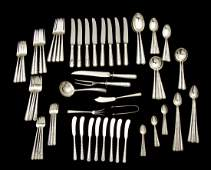 84 Pcs Towle Candlelight Sterling Flatware