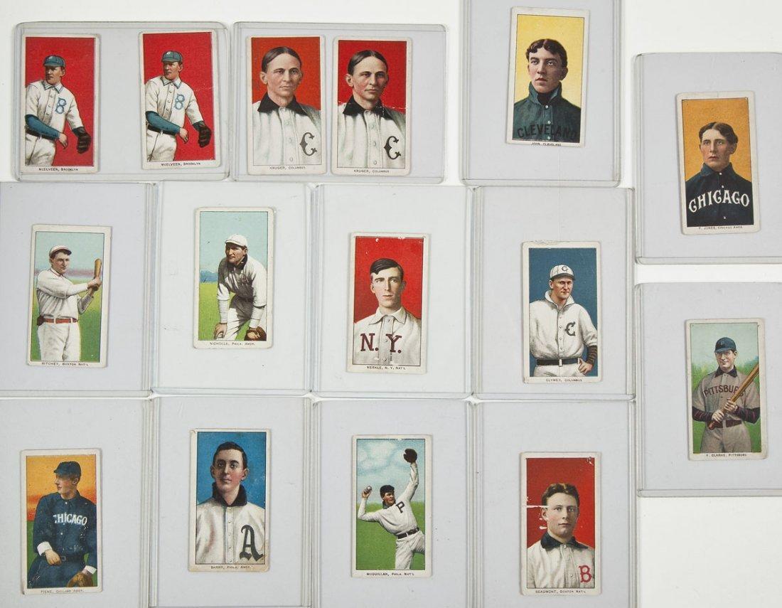 15 Circa 1909-11 T-206 Tobacco Cards