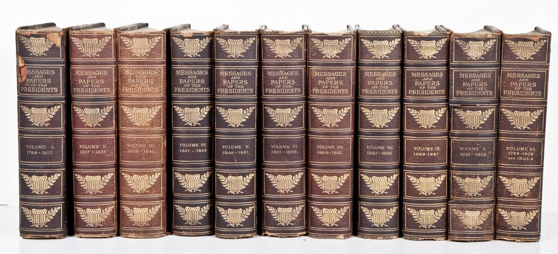 1908 Messages & Papers of the Presidents 1789-1908