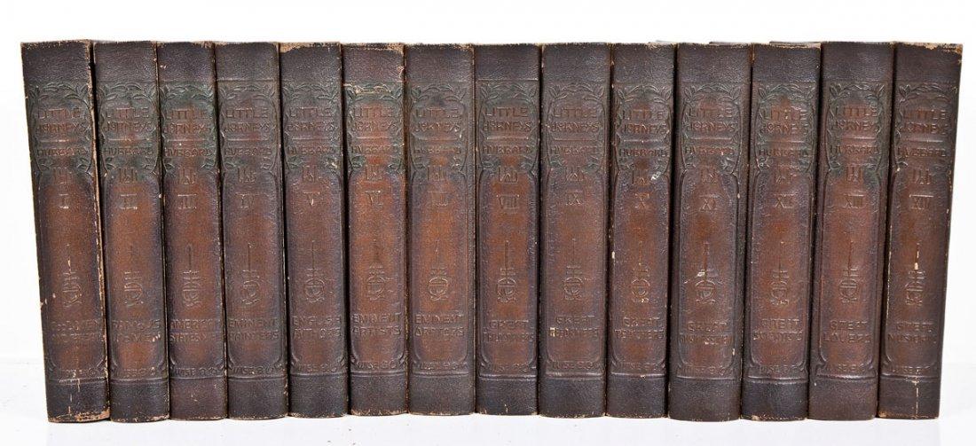 1916 Little Journeys Mem Ed E. Hubbard 14 Vols