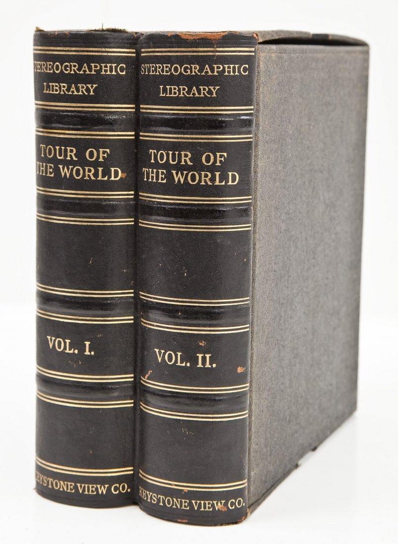 Circa 1900-1909 Keystone's Tour of the World 2 Vol
