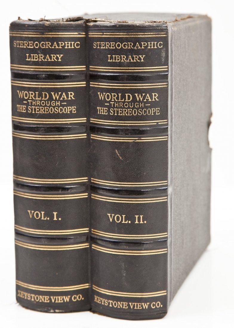 Circa 1920 Keystone View's World War 2 Vols