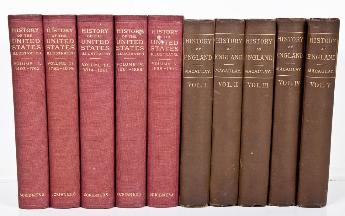 Histories of United States and England
