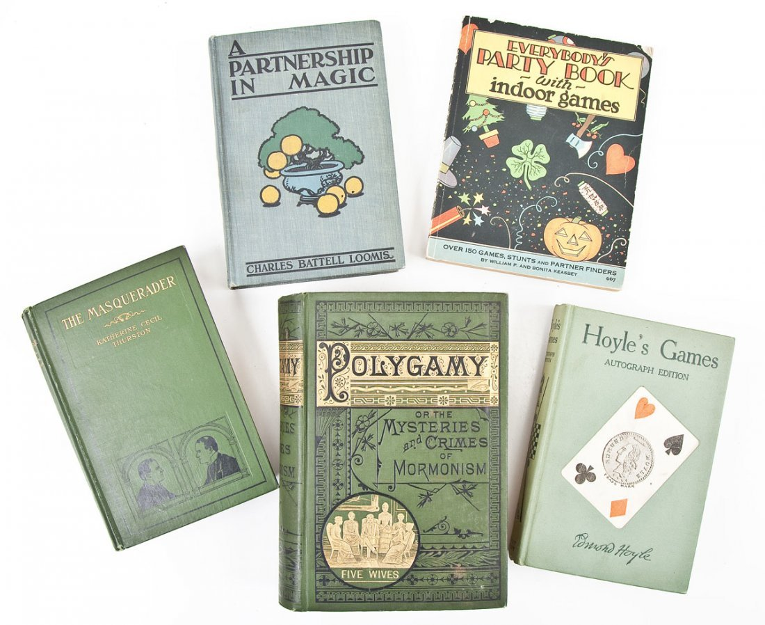 5 First Editions incl Magic & Games