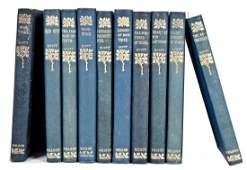 Circa 1905 Works of Sir Walter Scott 10 Vol