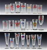 21 Advertising Beer Glasses