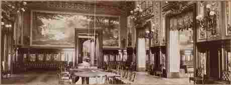 19th C Photograph Monte Carlo Salle De Jeu
