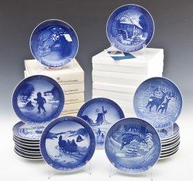 34 Bing & Grondahl Christmas Plates