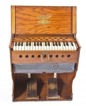 C 1930s Bilhorn Folding Missionary Pump Organ