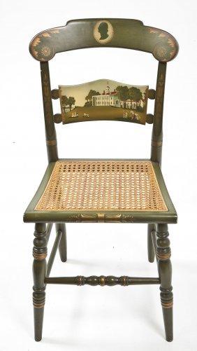 Hitchcock Mt. Vernon/washington Church Chair