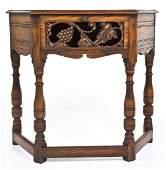 Jacobean Revival Hall Table