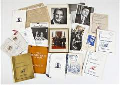21 Pcs Vintage Republican Ephemera incl. Photos