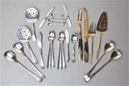 24 Pieces Silverplate