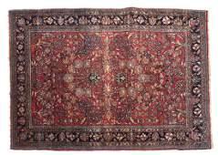 Persian Sarouk Area Rug