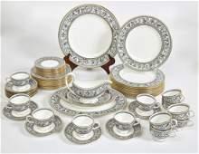 65 Piece Wedgwood Florentine Bone China Set