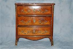 232 19th C Louis XV Style Chest of Drawers