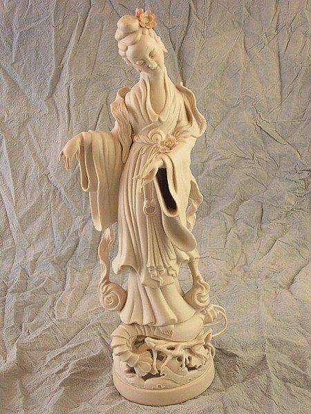 274: Cybis Bisque Geisha Figurine