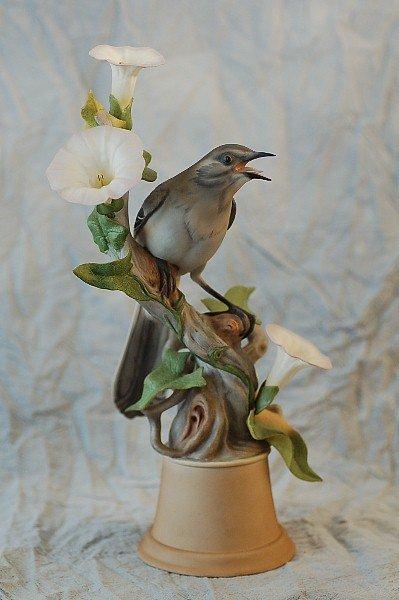 291: Boehm Limited Edition 459H Mockingbirds Female