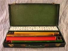 670 Vintage Chrisloid Plastics Mah Jongg Set in Box