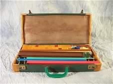 671 Vintage Tyl Mfg Bakelite Mah Jongg Set