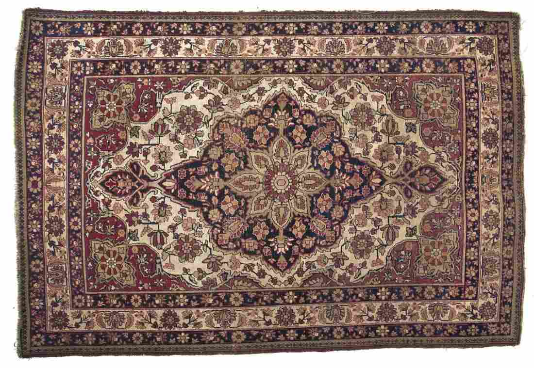 Persian Kerman Area Rug