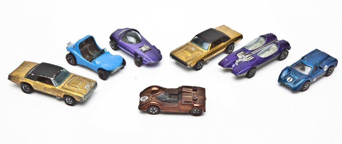 7 Hot Wheels Redline Sports Cars
