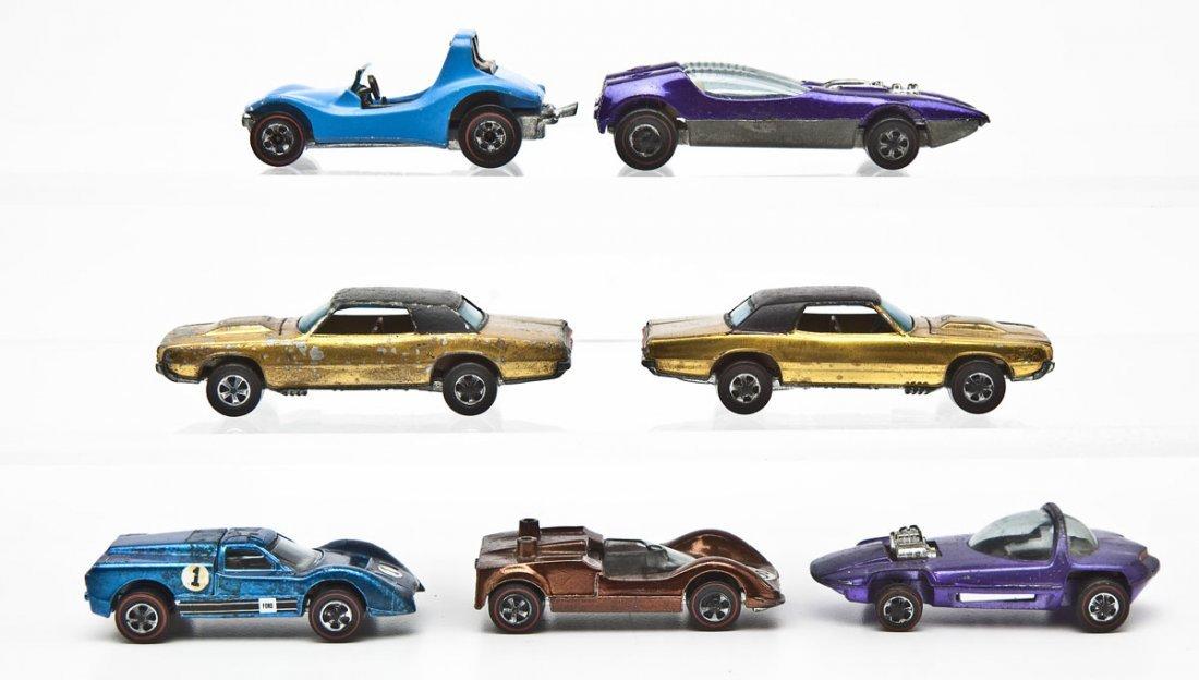 7 Hot Wheels Redline Sports Cars - 3