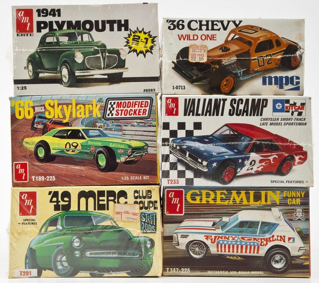 5 AMT Model Car Kits & 1 MPC '36 Chevy Model Kit - 2
