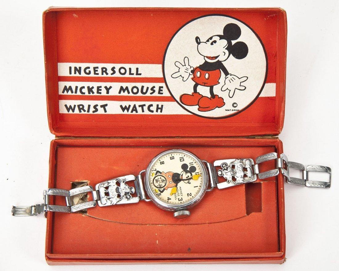 Ingersoll Disney Mickey Mouse Watch & Kerchiefs - 2
