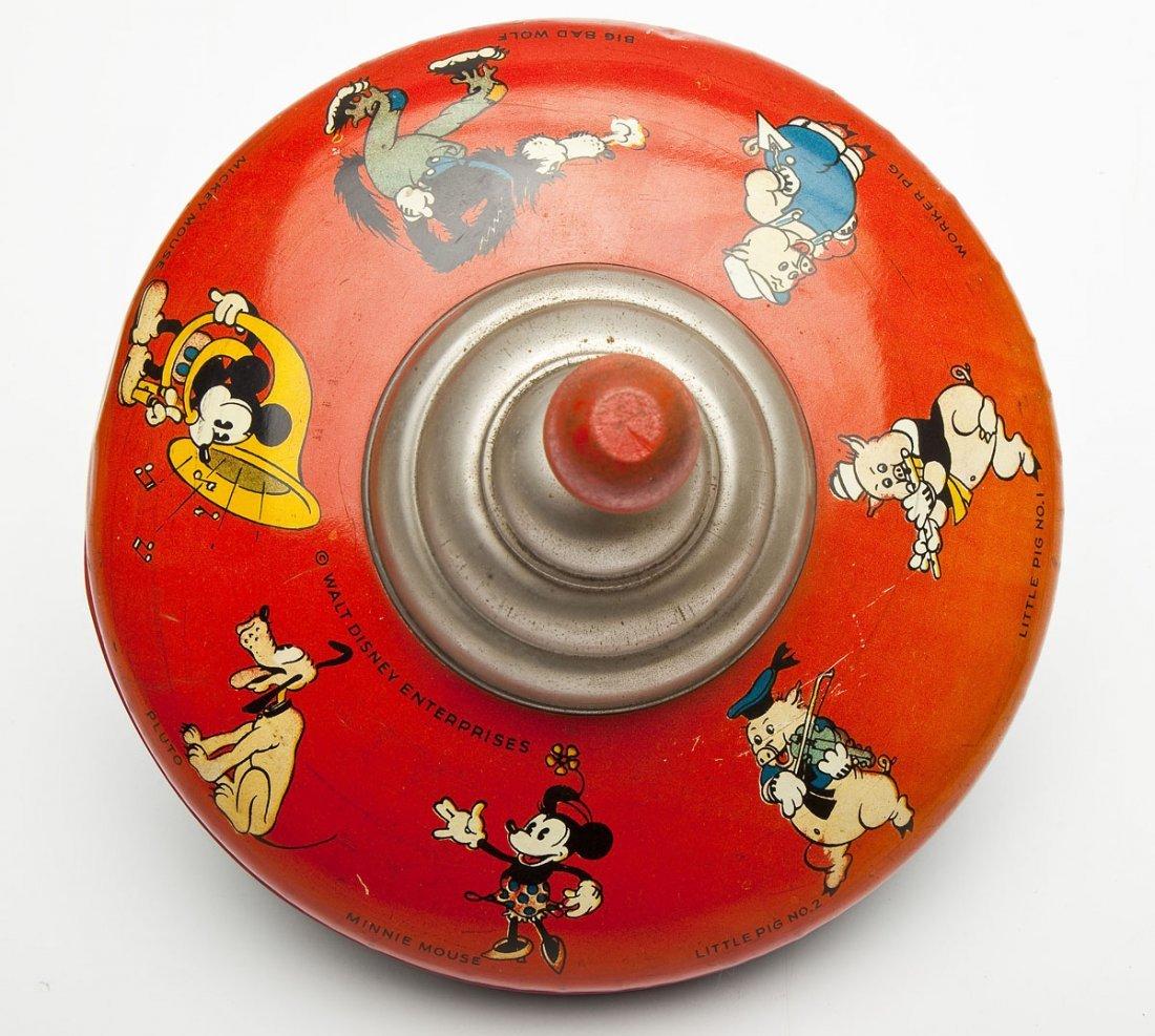 3 Tin Litho Toys incl Early Disney & Marx - 8