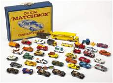 37 Hot Wheels Cars plus Buckle & Matchbox Case