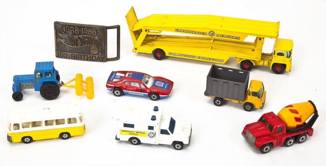 37 Hot Wheels Cars plus Buckle & Matchbox Case - 3