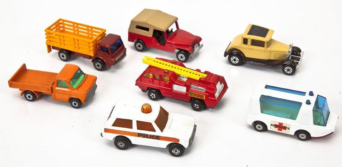 37 Hot Wheels Cars plus Buckle & Matchbox Case - 4