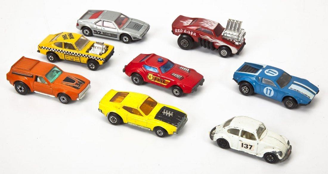 37 Hot Wheels Cars plus Buckle & Matchbox Case - 6
