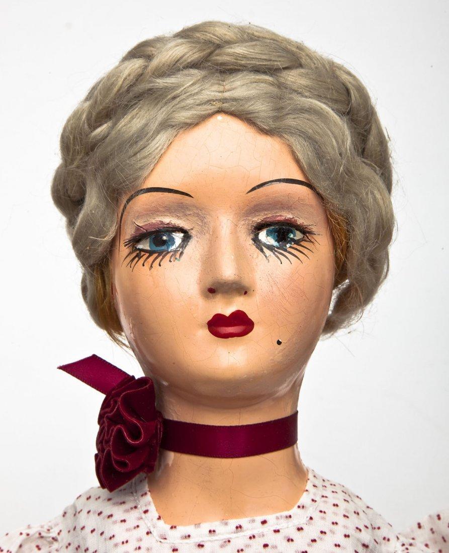 4 Boudoir Composition Dolls - 4