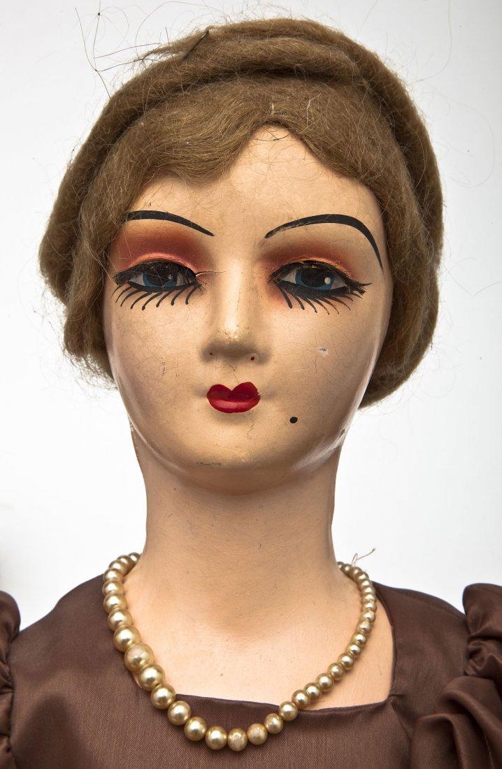 4 Boudoir Composition Dolls - 5