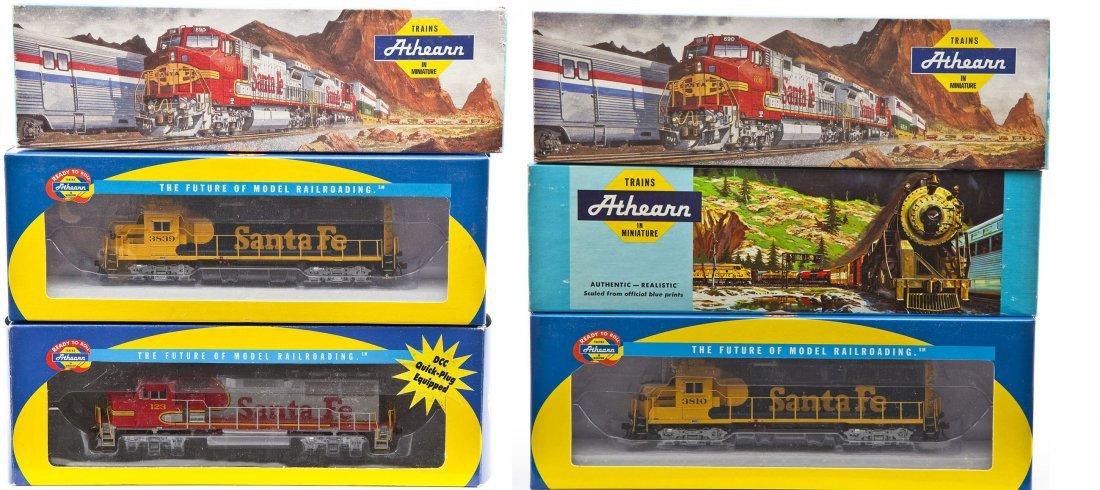 6 Athearn HO Scale Locomotives
