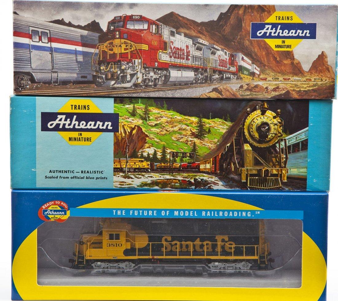 6 Athearn HO Scale Locomotives - 2