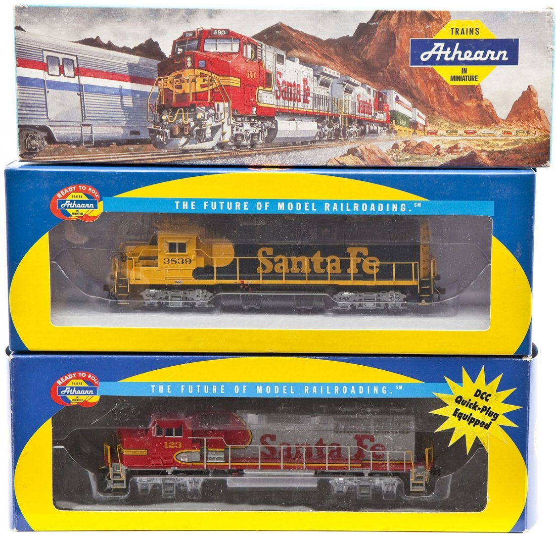 6 Athearn HO Scale Locomotives - 4