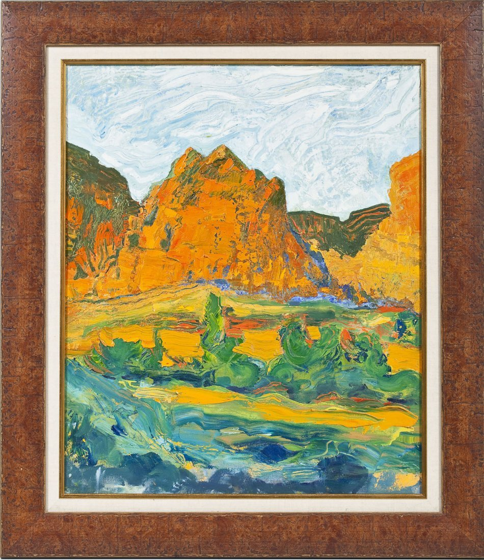Western Landscape Painting - 2