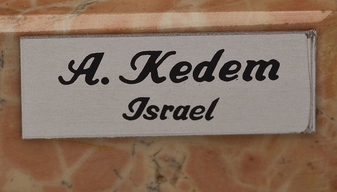 2 Sterling Judaica Sculptures incl. A. Kedem - 2