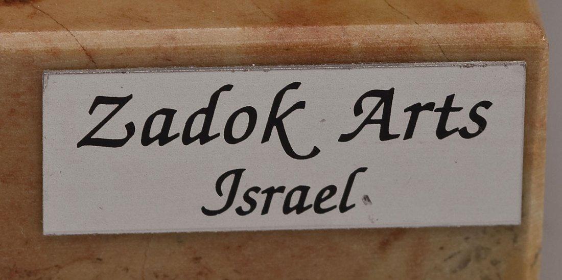 2 Sterling Judaica Sculptures incl. A. Kedem - 3
