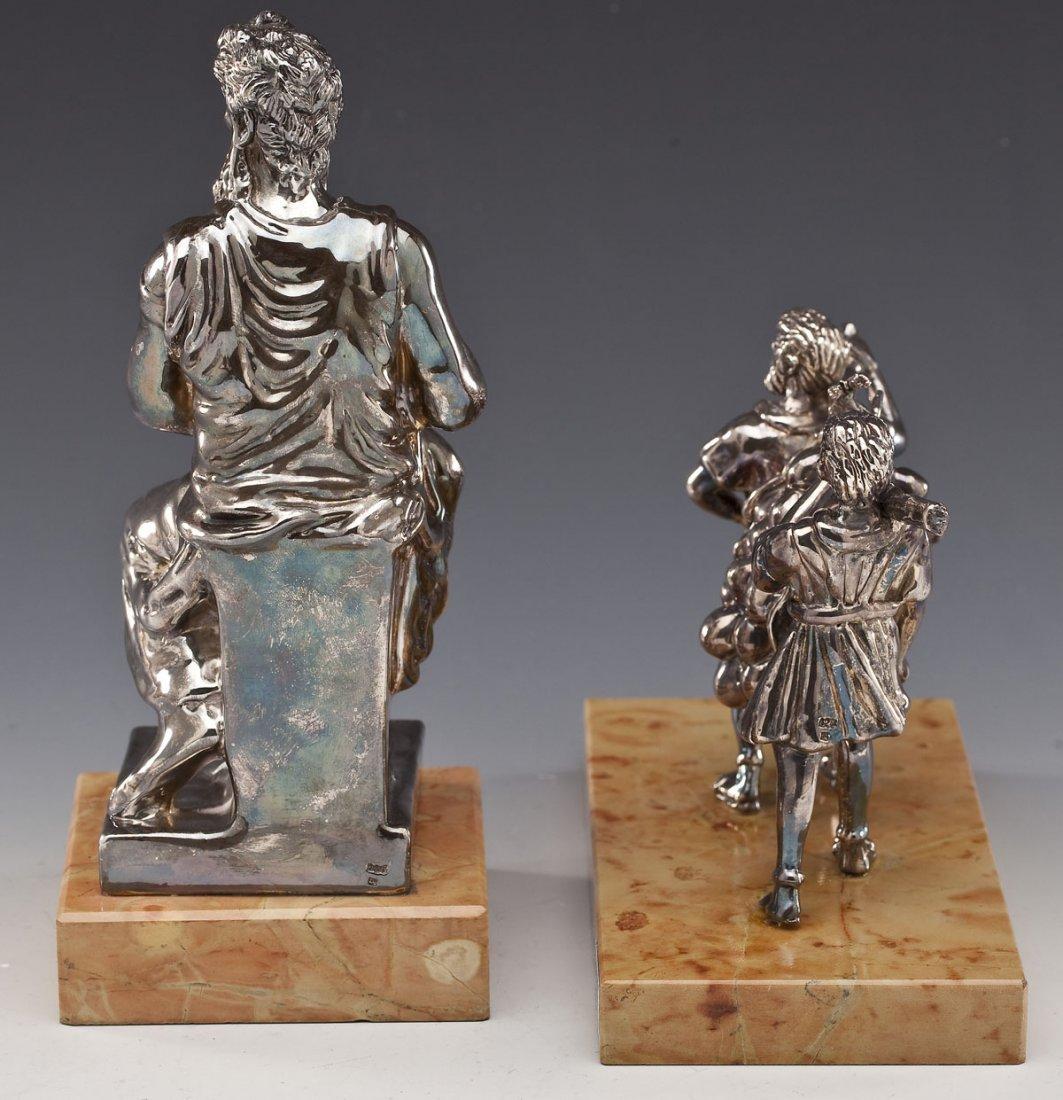2 Sterling Judaica Sculptures incl. A. Kedem - 5