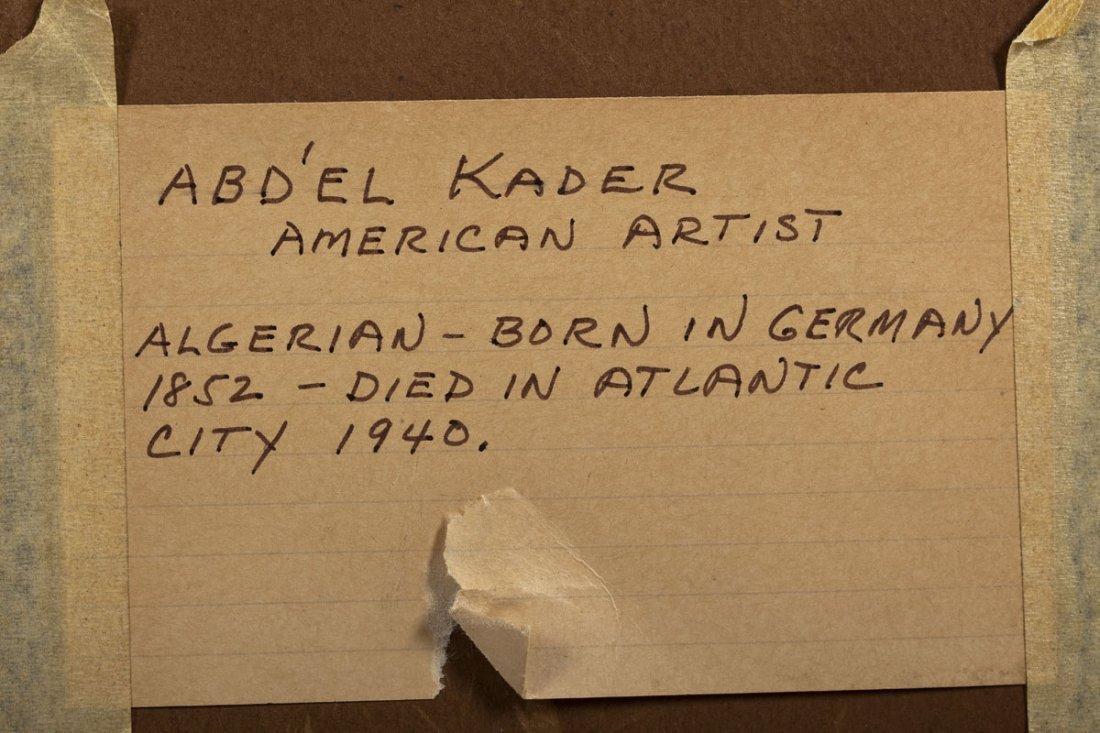 Abd'el Kader (Algerian, 1852-1940) - 5