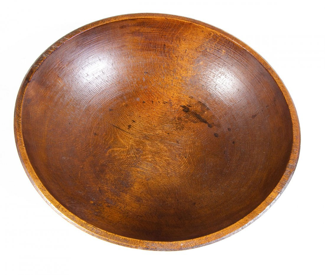 Burl Bowl with Wood Apples - 3