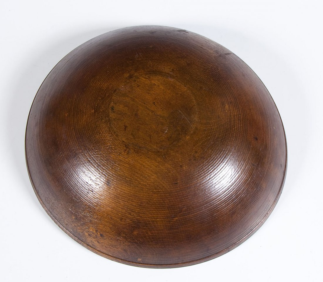 Burl Bowl with Wood Apples - 4