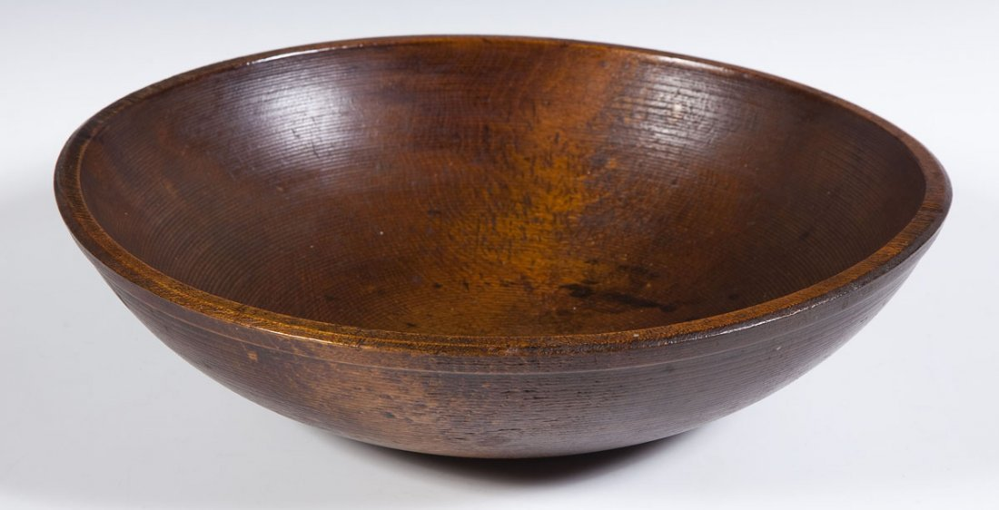 Burl Bowl with Wood Apples - 5