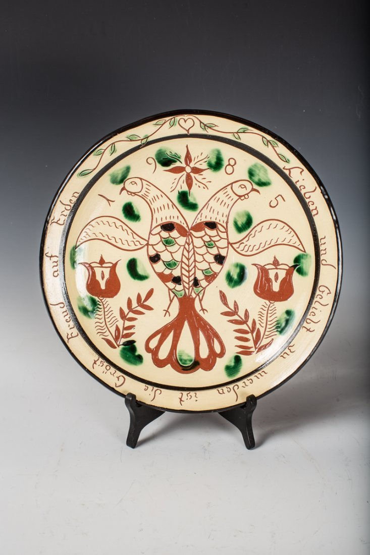 Long Family Pottery Charger