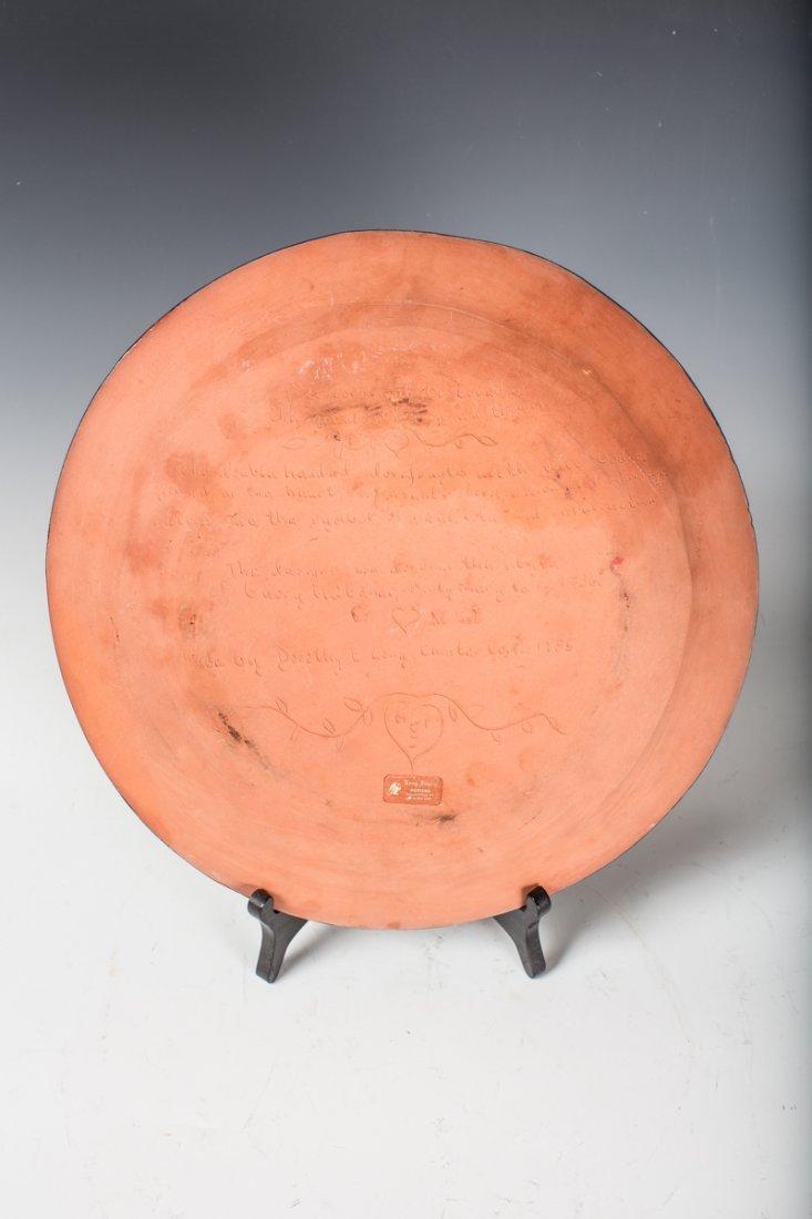 Long Family Pottery Charger - 2